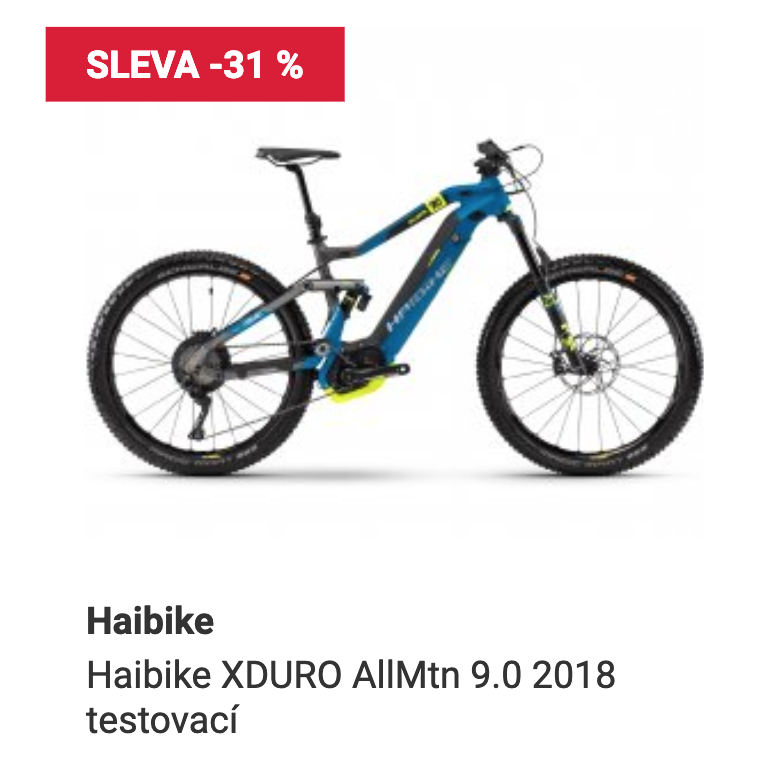 Haibike ALLMTN 9.0 2018