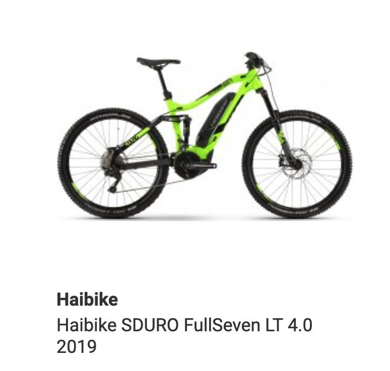 Haibike SDURO FullSeven LT 4.0 2019