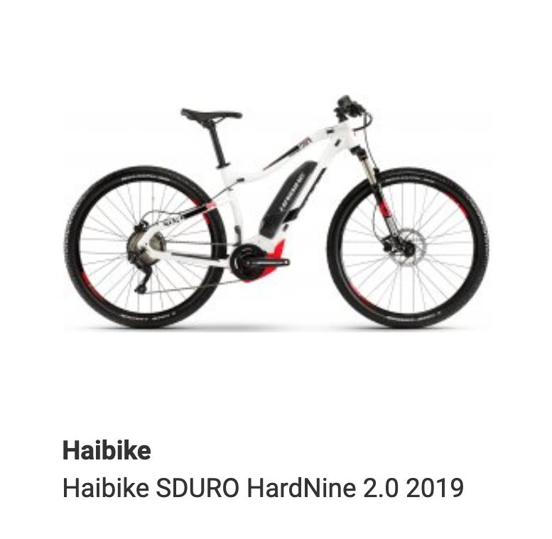 Haibike SDURO HardNine 2.0 2019