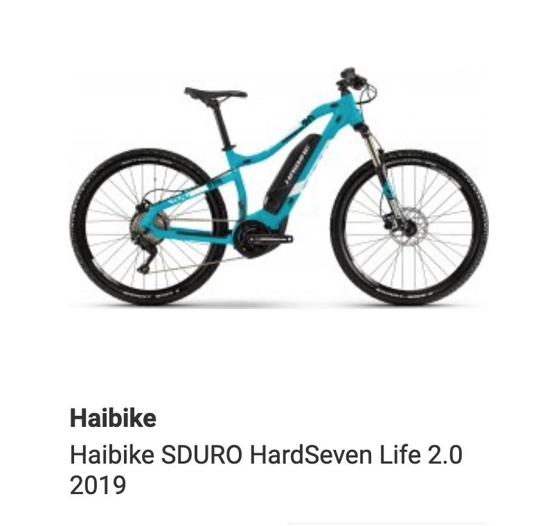 Haibike SDURO HardSeven Life 2.0 2019